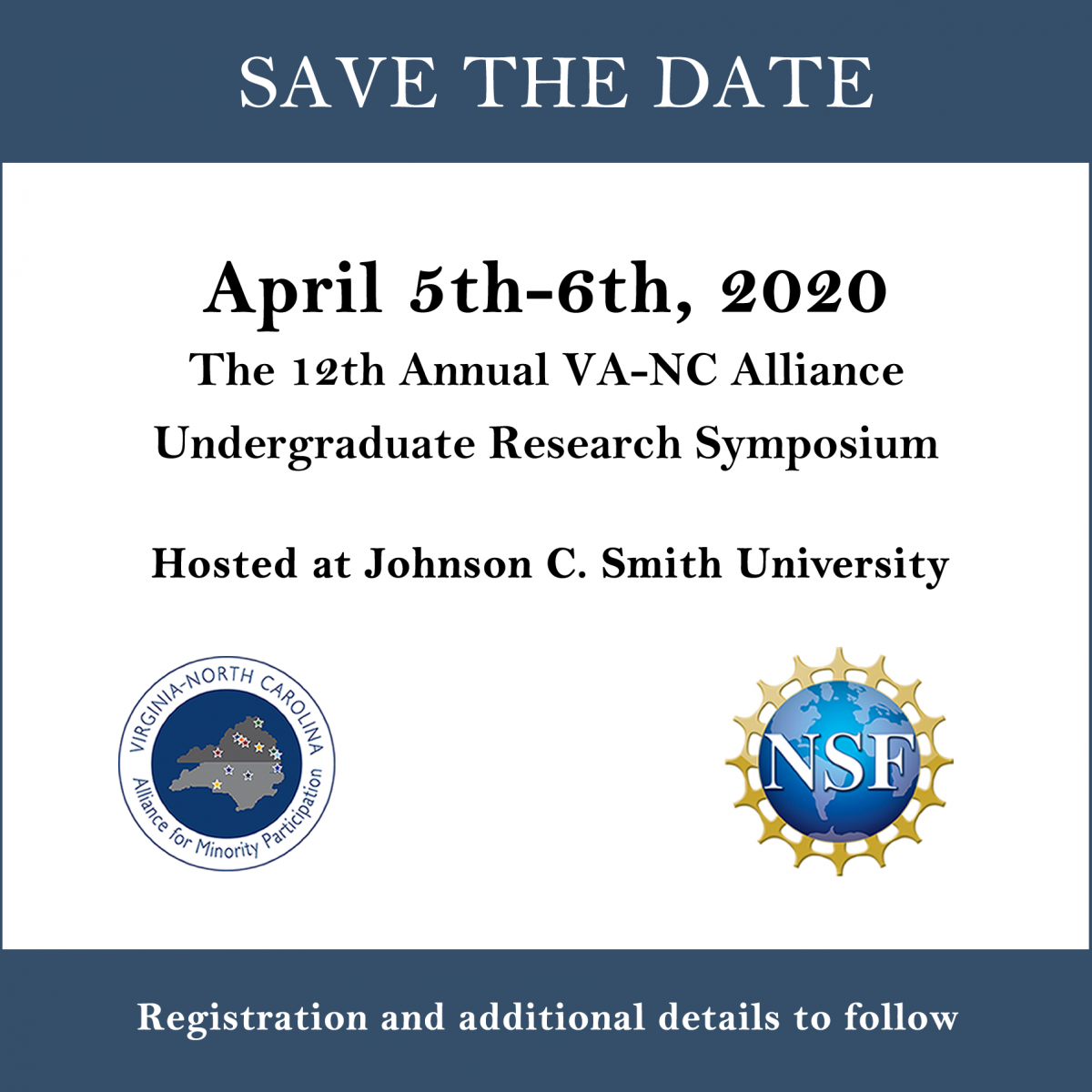 2020 VA-NC Alliance Save the Date graphic